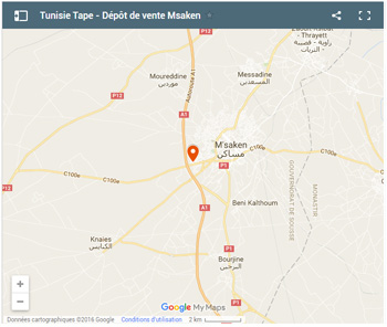 Tunisia tape Msaken